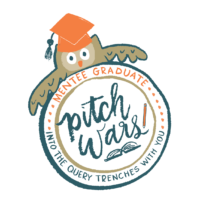 "Illustration of PItch Wars owl mascot saying ""mentee graduate"""