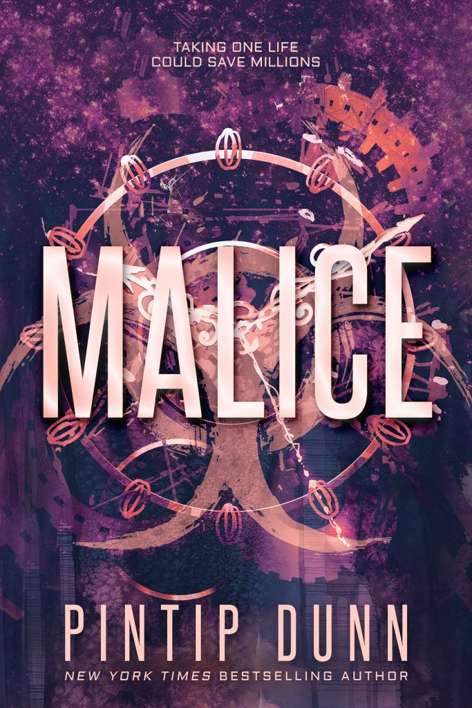 Book cover for Malice by Pintip Dunn