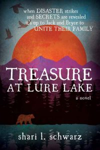 Treasure at Lure Lake book cover