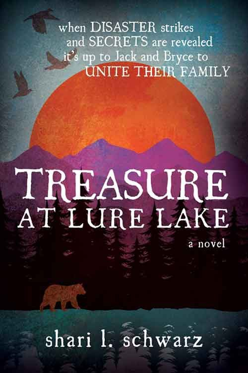 TREASURE AT LURE LAKE by Shari Schwarz