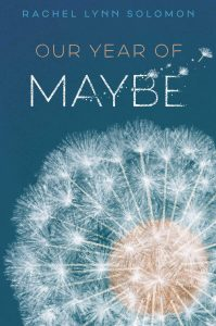 Book cover for Our Year of Maybe